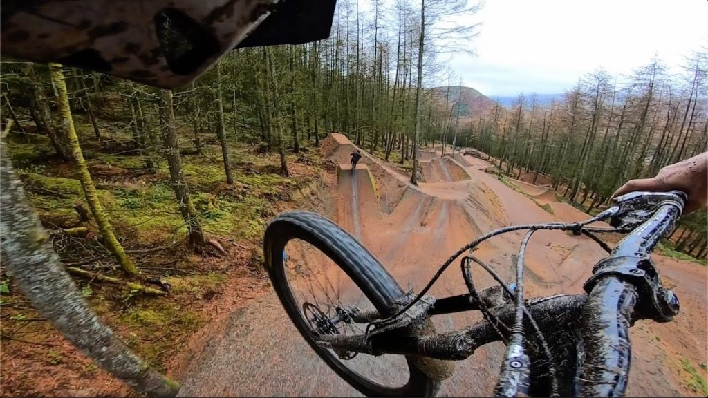 Mountain Bike Downhill Safety